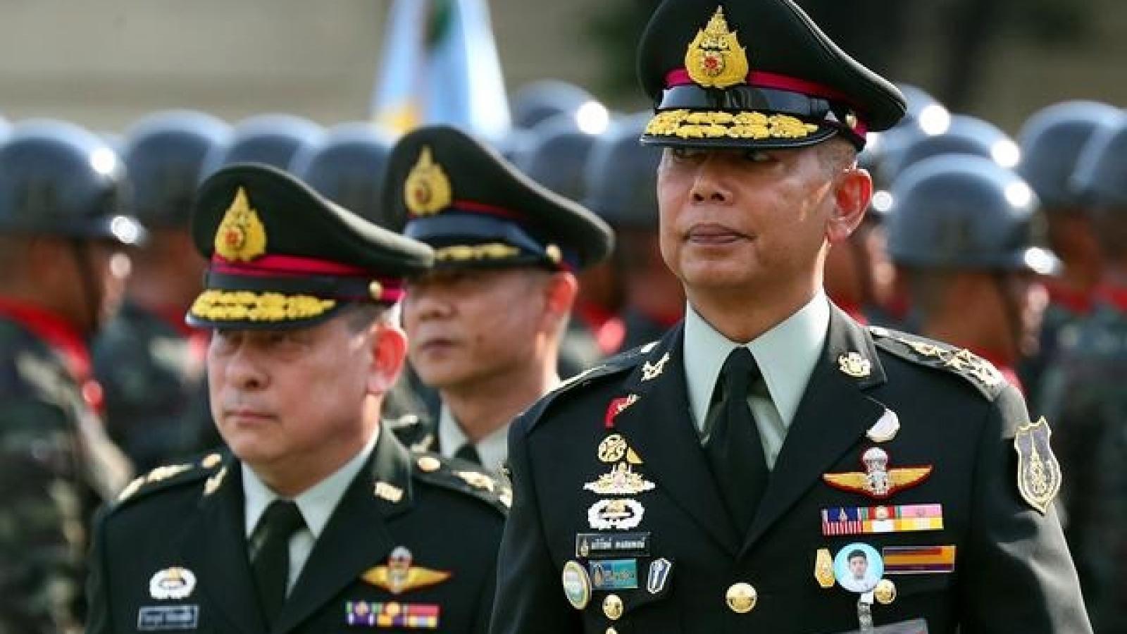 Thái Lan lên kế hoạch cắt giảm 25% số lượng tướng lĩnh