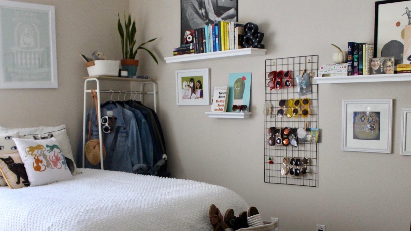 Trang trí phòng ngủ nhỏ: Tưởng khó mà dễ không tưởng