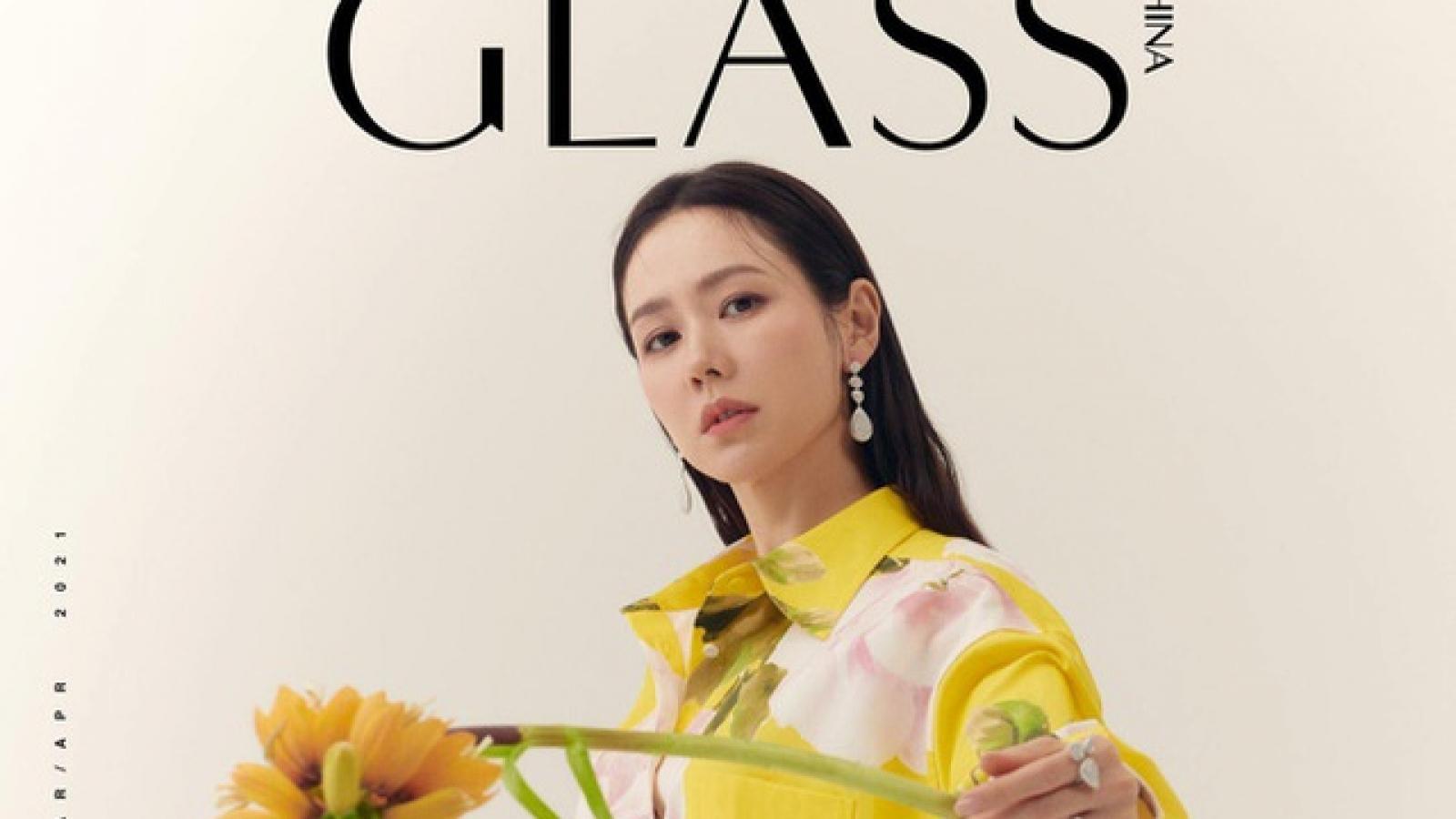 Son Ye Jin đẹp tựa nữ thần trong loạt ảnh tạp chí