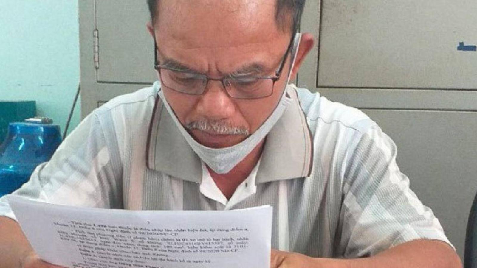 Vận chuyển thuốc lá lậu, một người đàn ông bị phạt 80 triệu đồng