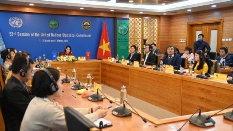 Vietnam attending 52nd session of UN Statistical Commission