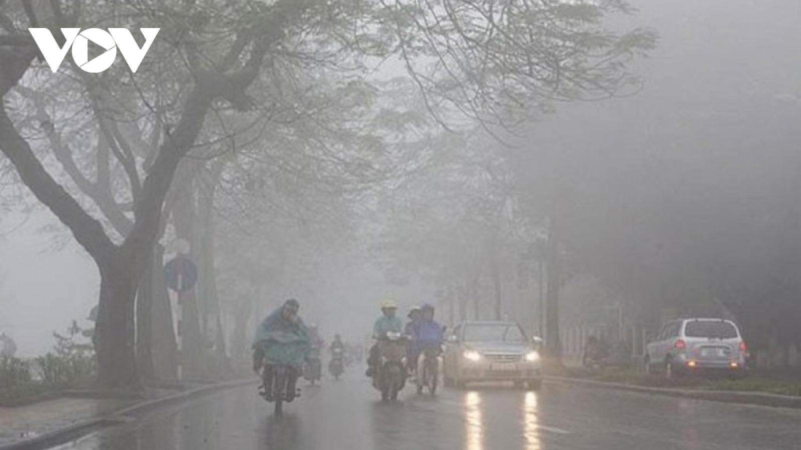Thời tiết ngày 5/3: Hà Nội trời rét, có mưa nhỏ mưa phùn sáng sớm và đêm