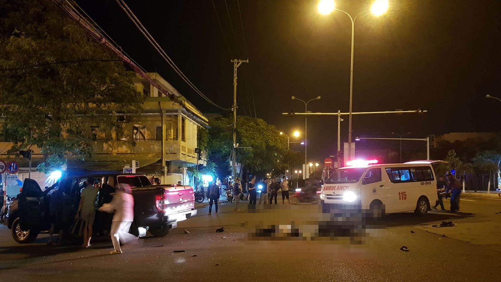 Tai nạn giao thông tại Đà Nẵng, 3 người thương vong