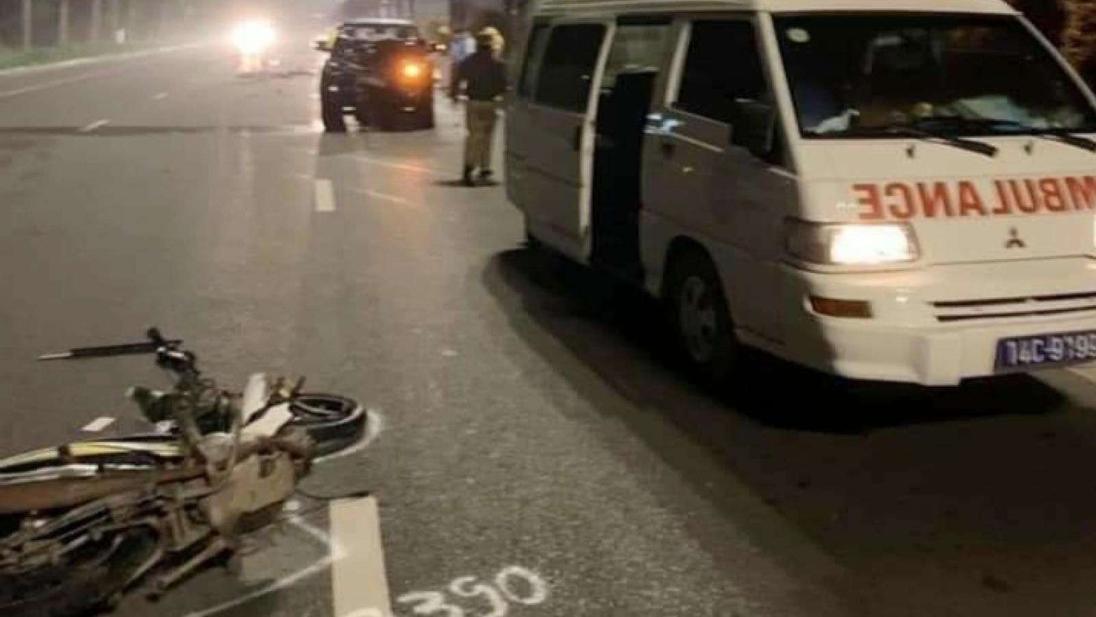 Tai nạn giao thông khiến 2 người tử vong