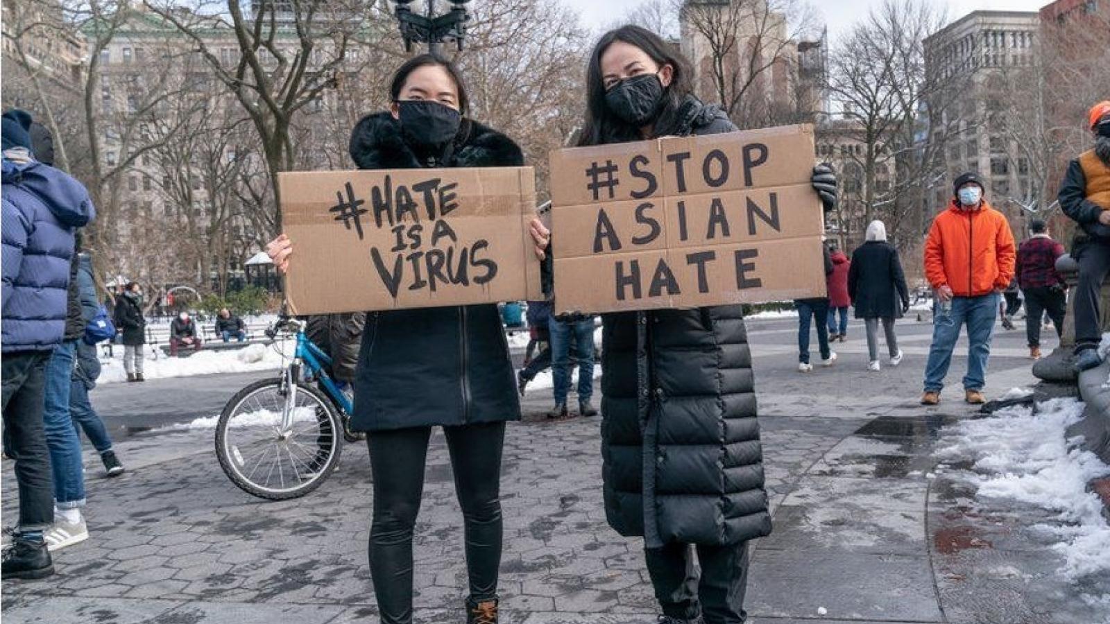 Báo động tình trạng bạo lực nhằm vào người Mỹ gốc châu Á