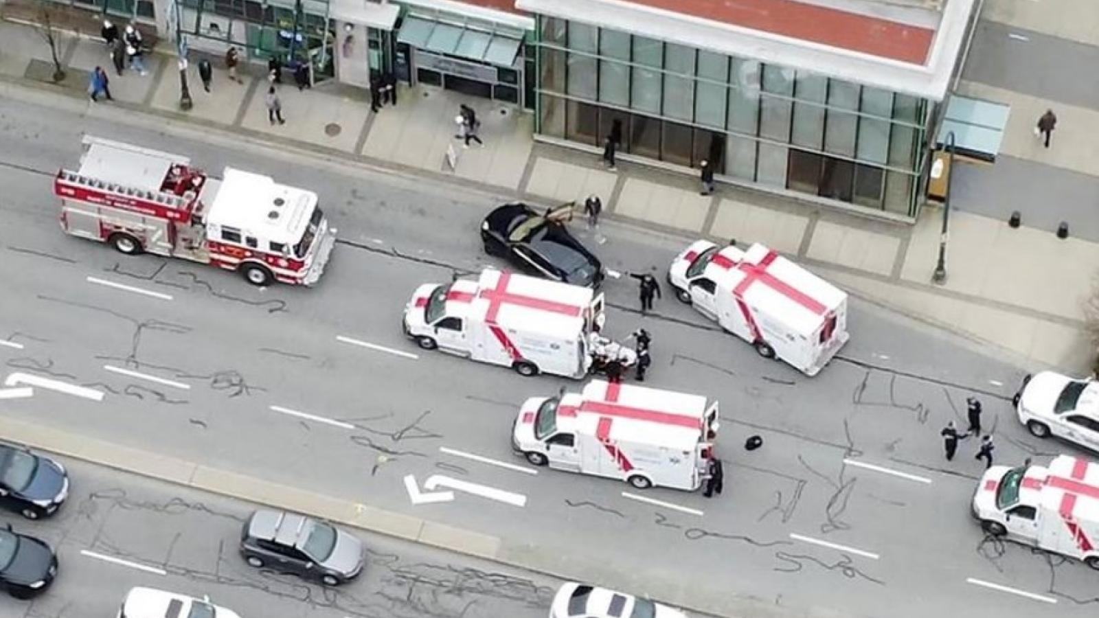 Tấn công bằng dao tại Canada: 6 người thương vong, nghi phạm bị bắt giữ