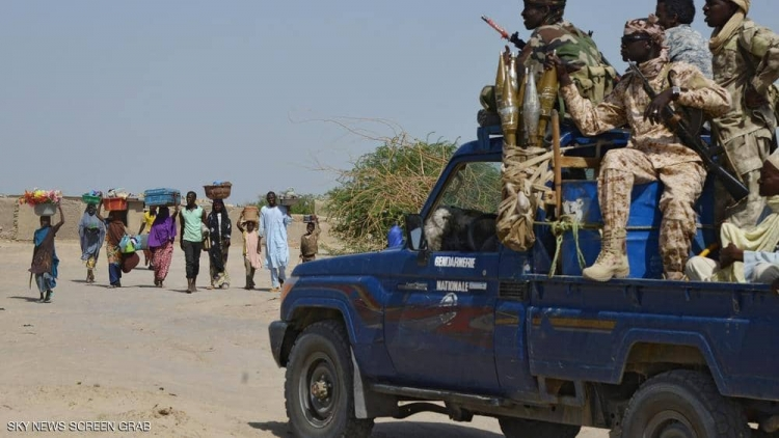 Tấn công dân thường ở Niger khiến ít nhất 22 người thiệt mạng