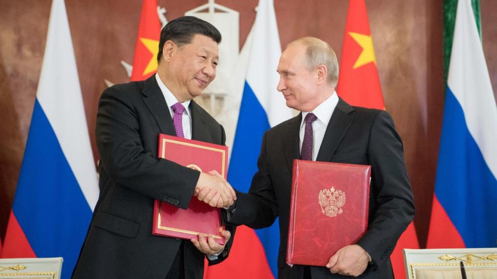 Liên minh không phải lựa chọn tốt nhất của Nga và Trung Quốc để đối đầu Mỹ