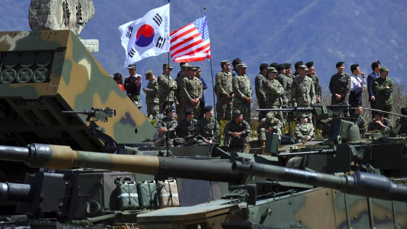 Hàn Quốc và Mỹ thu nhỏ quy mô tập trận chung vì dịch Covid-19