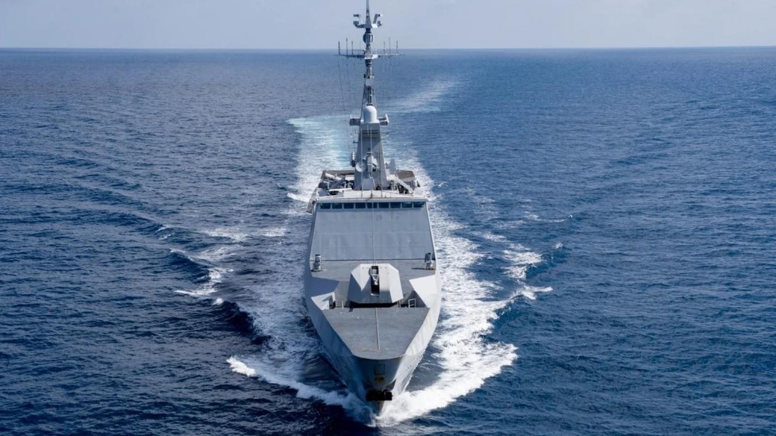 Đưa tàu chiến vào Biển Đông, Pháp đang khẳng định đối tác đa phương và tự do đi lại