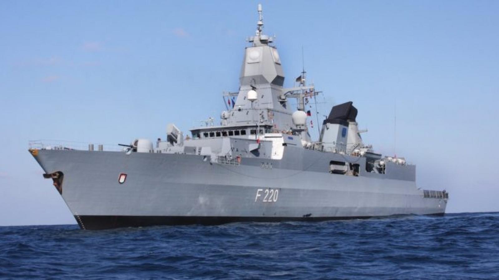 Tàu chiến Đức sẽ lần đầu tiên trở lại Biển Đông kể từ năm 2002