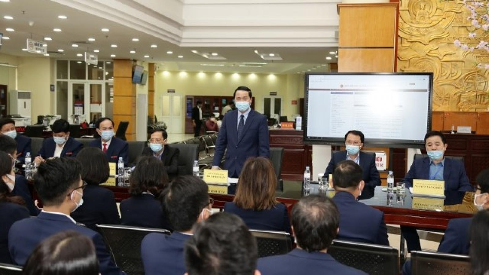Thanh Hoá làm rõ trách nhiệm đối với các đơn vị để hồ sơ quá hạn