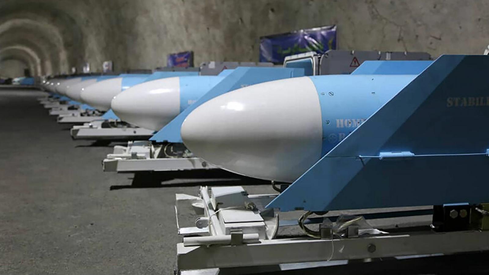 """""""Thành phố tên lửa"""" mới của Iran"""
