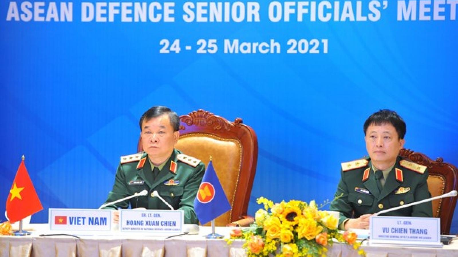ASEAN Defence Senior Officials' Meeting convenes