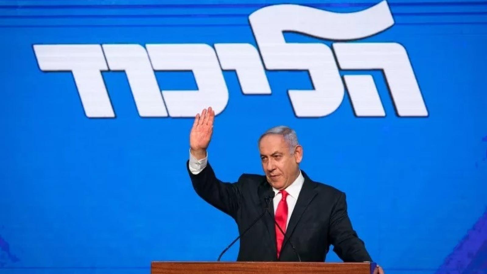 Thủ tướng Israel tuyên bố thành công lớn trong cuộc bầu cử lập pháp