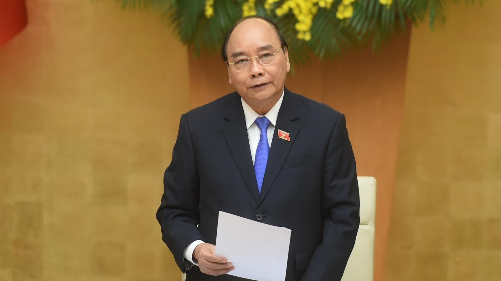 Thủ tướng chủ trì phiên họp Chính phủ thường kỳ cuối cùng của nhiệm kỳ