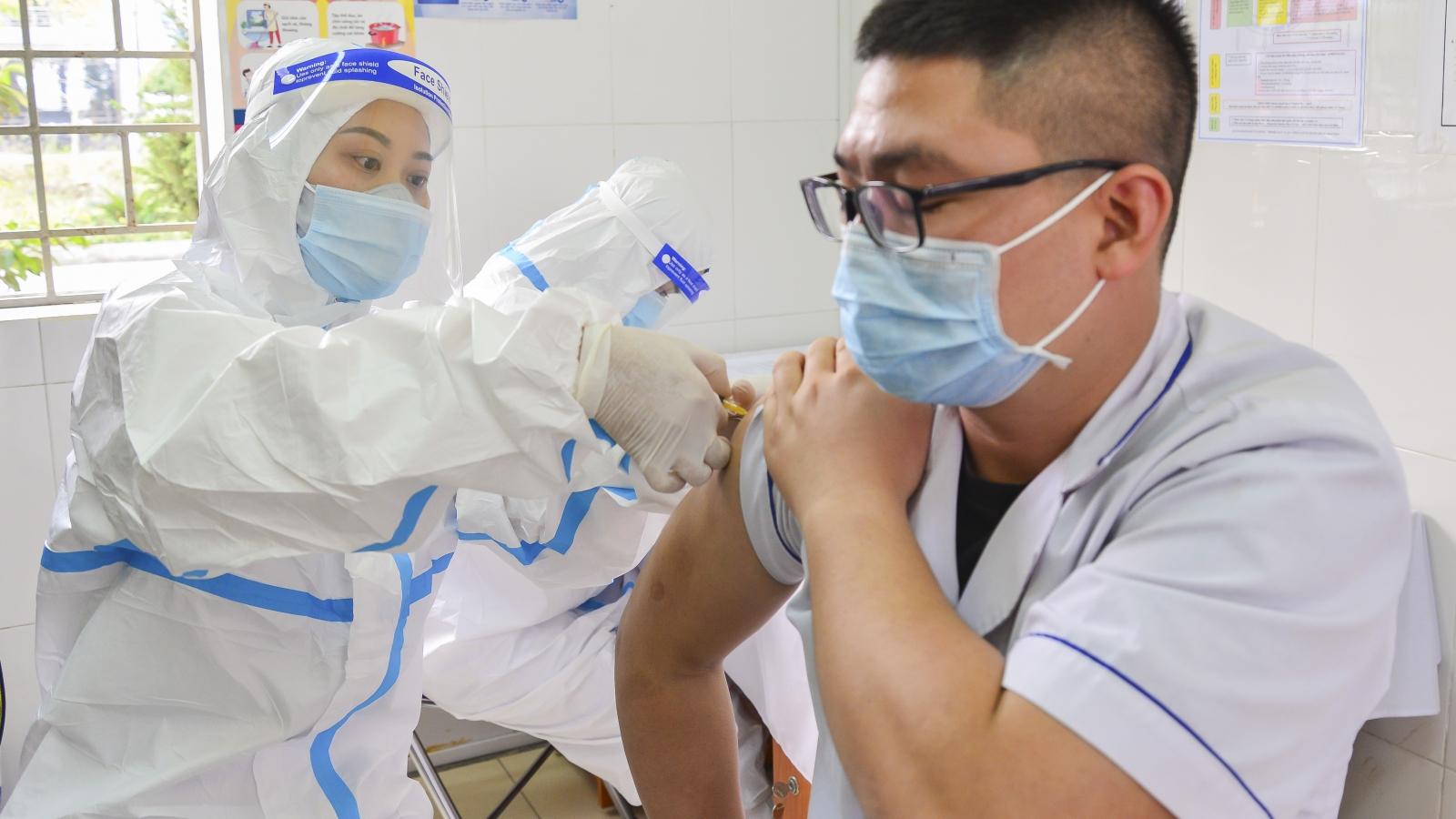Điện Biên bắt đầu triển khai tiêm vaccine phòng Covid-19