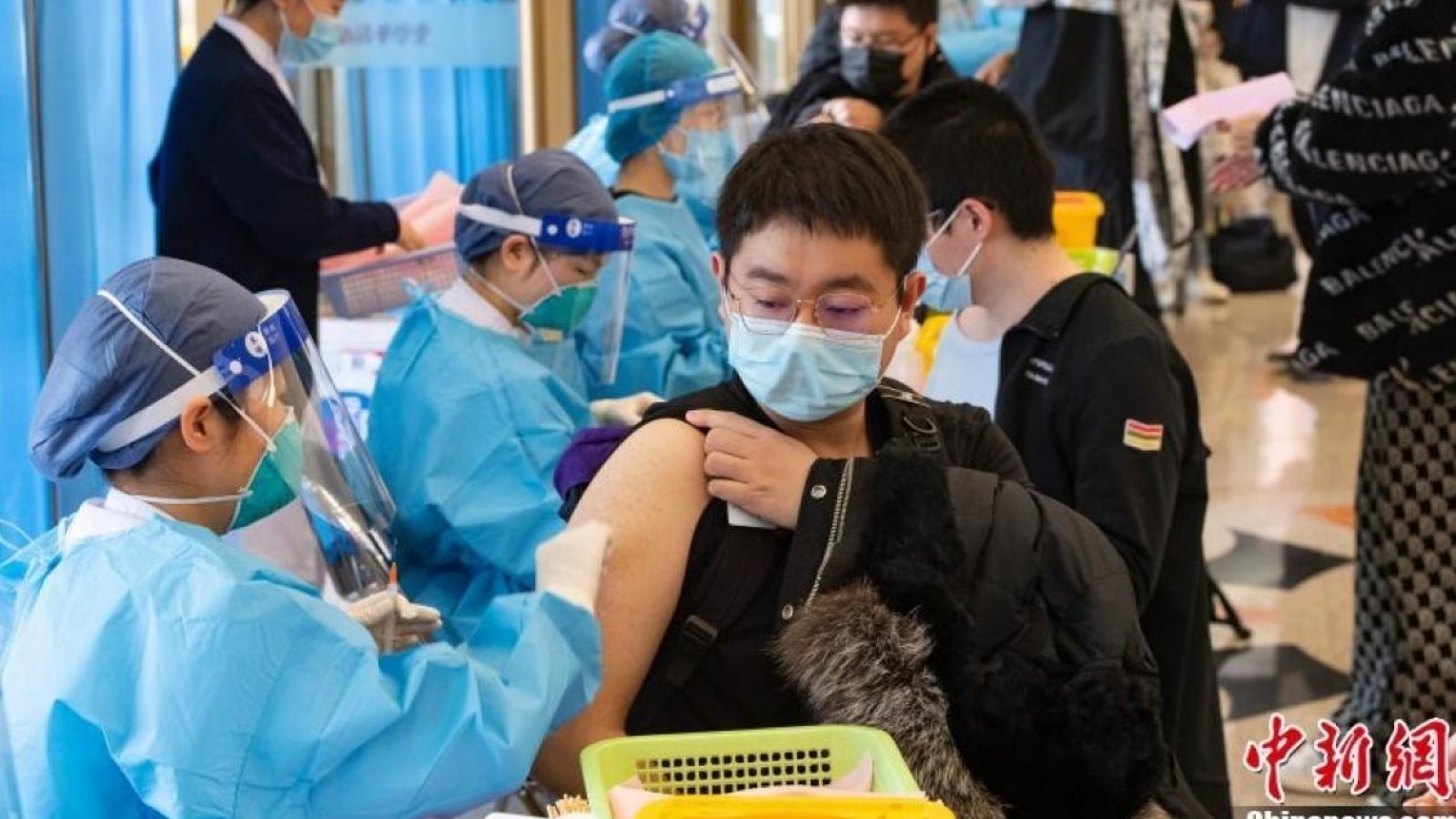 Gần 7 triệu người Bắc Kinh (Trung Quốc) đã được tiêm vaccineCovid-19