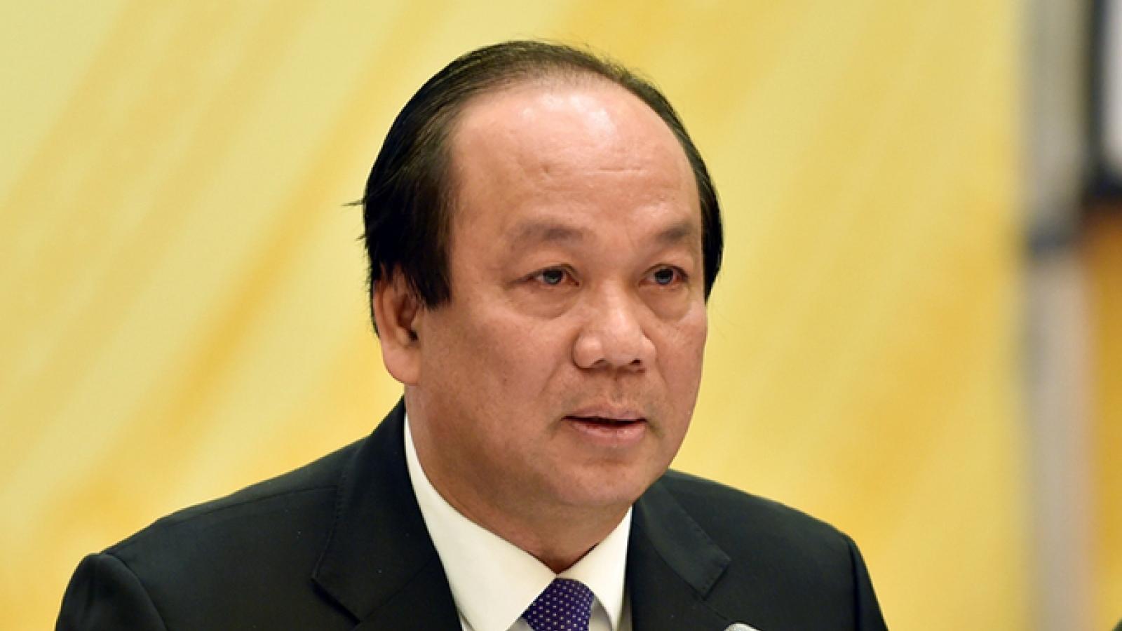Bộ trưởng Mai Tiến Dũng: Nhiệm kỳ Chính phủ đầu tiên không nợ đọng văn bản