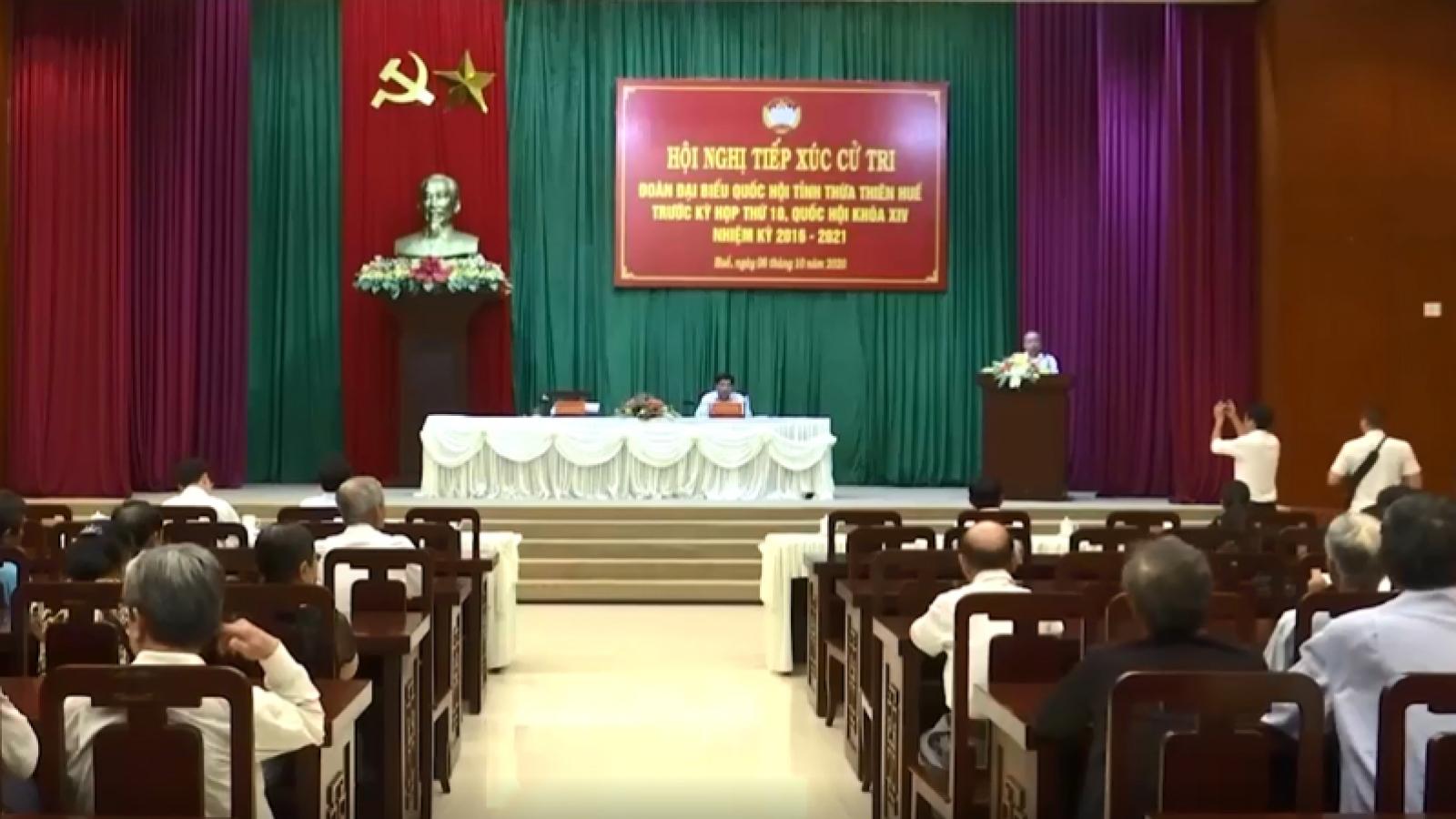 Thừa Thiên Huế được bầu 7 đại biểu Quốc hội