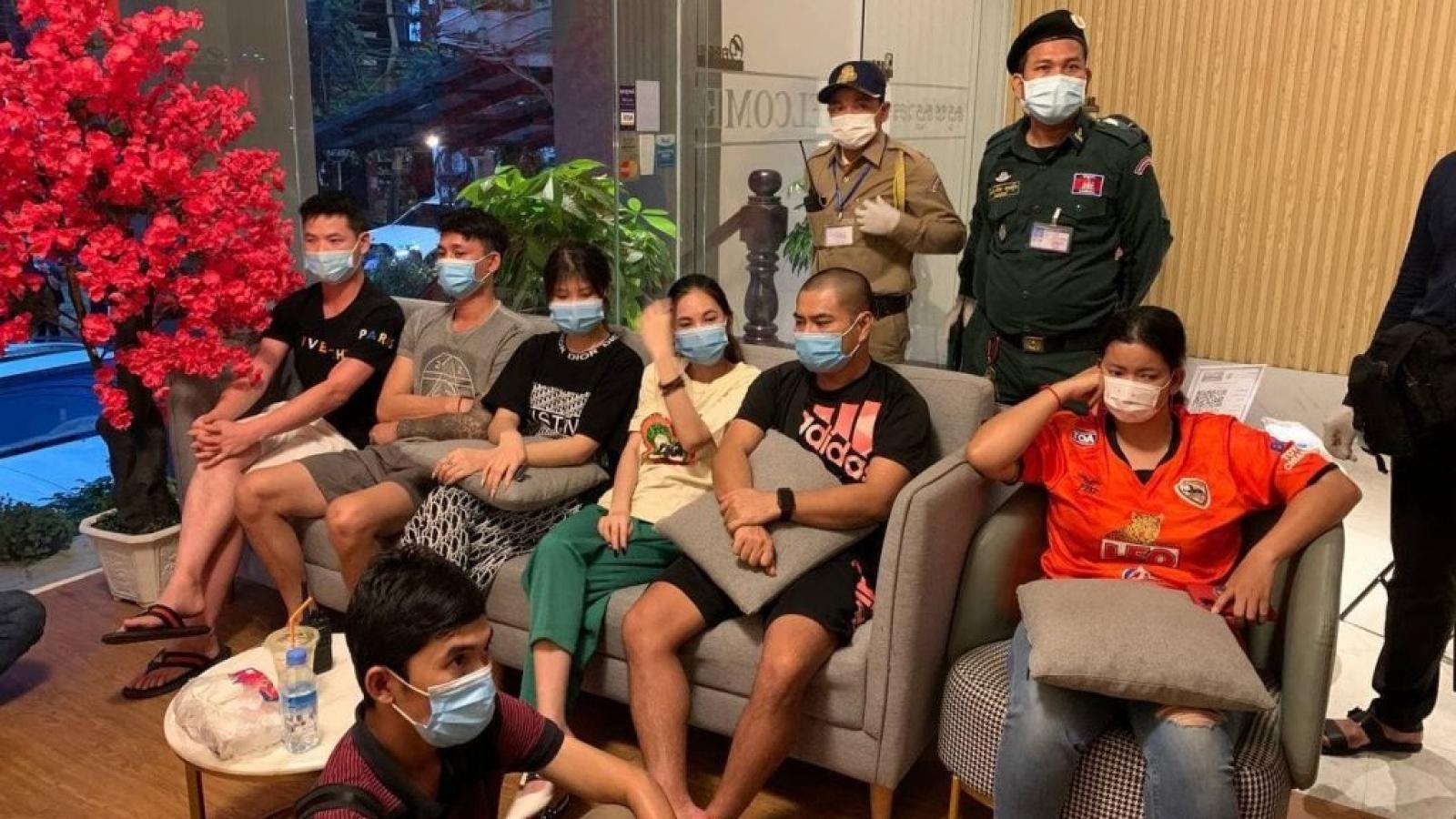 Campuchia triệt phá nhóm tội phạm lợi dụng dịch Covid-19 để bắt cóc tống tiền