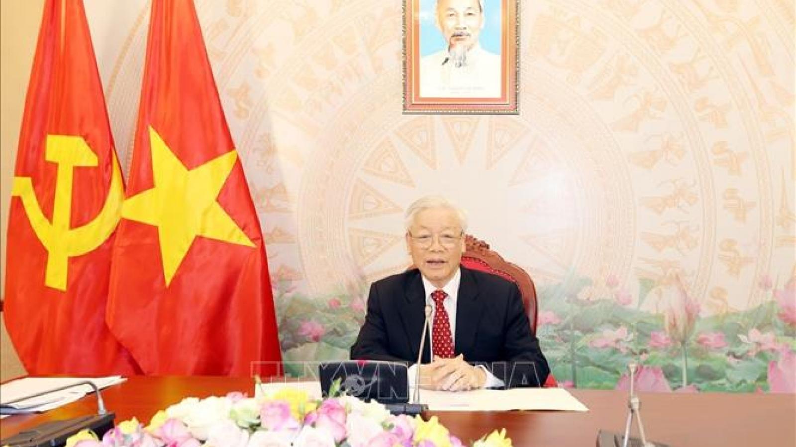 Tổng Bí thư gửi điện mừng Tổng thống CHND Bangladesh