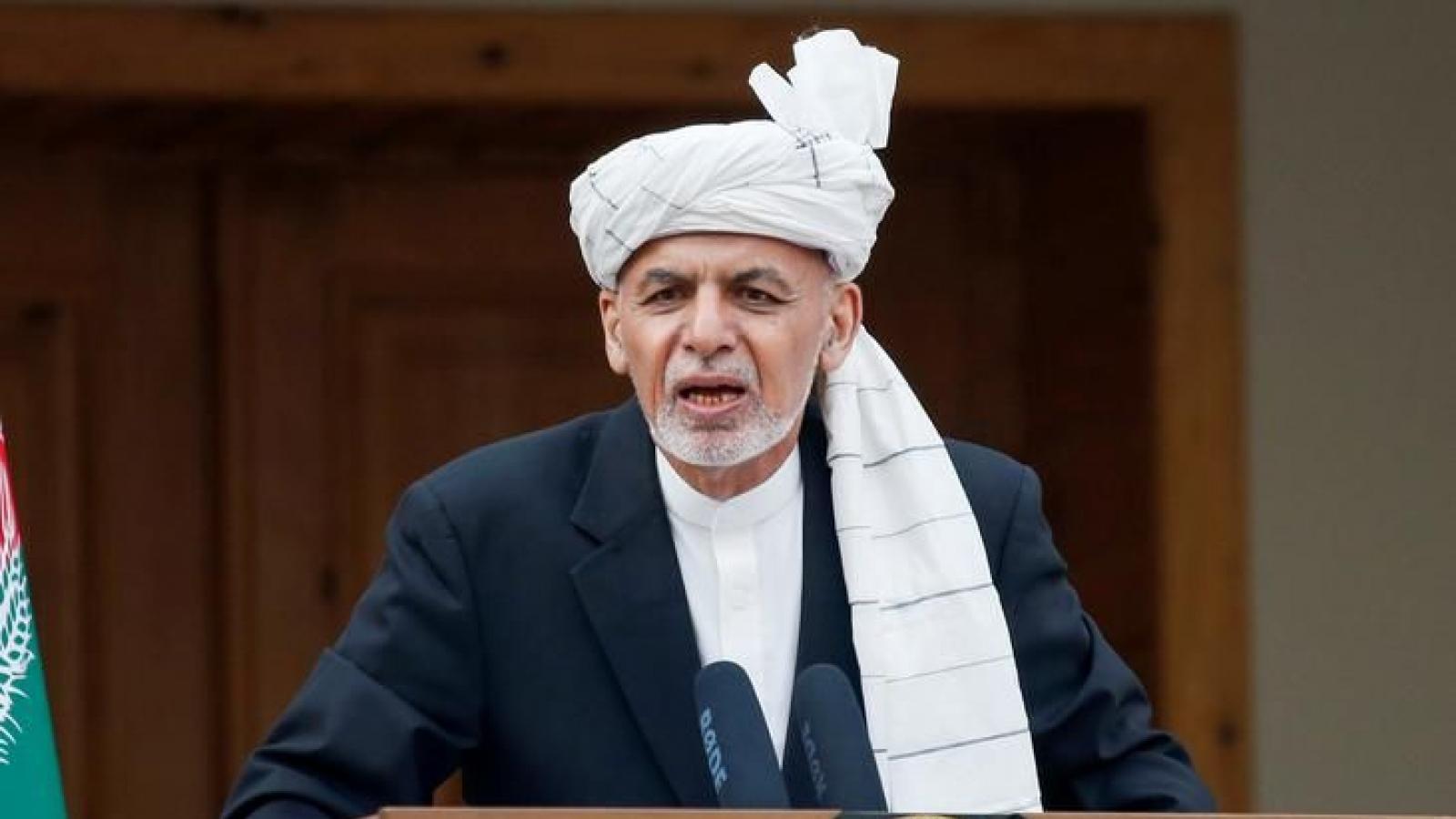 Tổng thống Afghanistan sẵn sàng thảo luận bầu cử đàm phán với Taliban