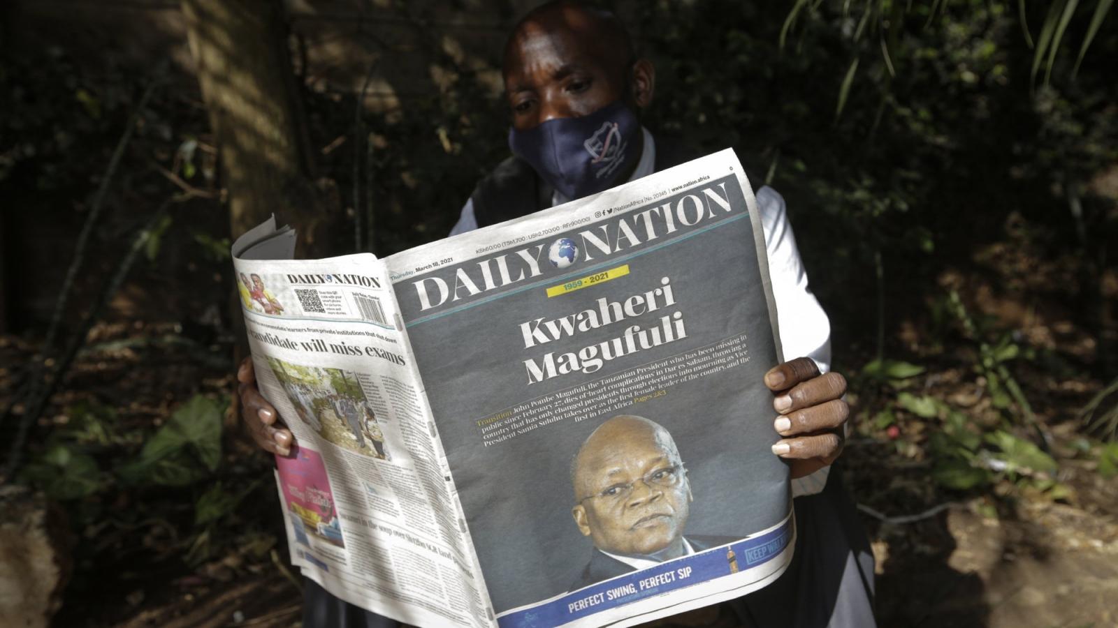 45 người chết trong vụ giẫm đạp tại lễ viếng cố Tổng thống Tanzania