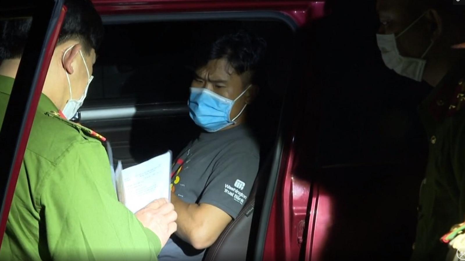 2 người Trung Quốc trốn cách ly tại Nghệ An bị bắt ở Hà Tĩnh