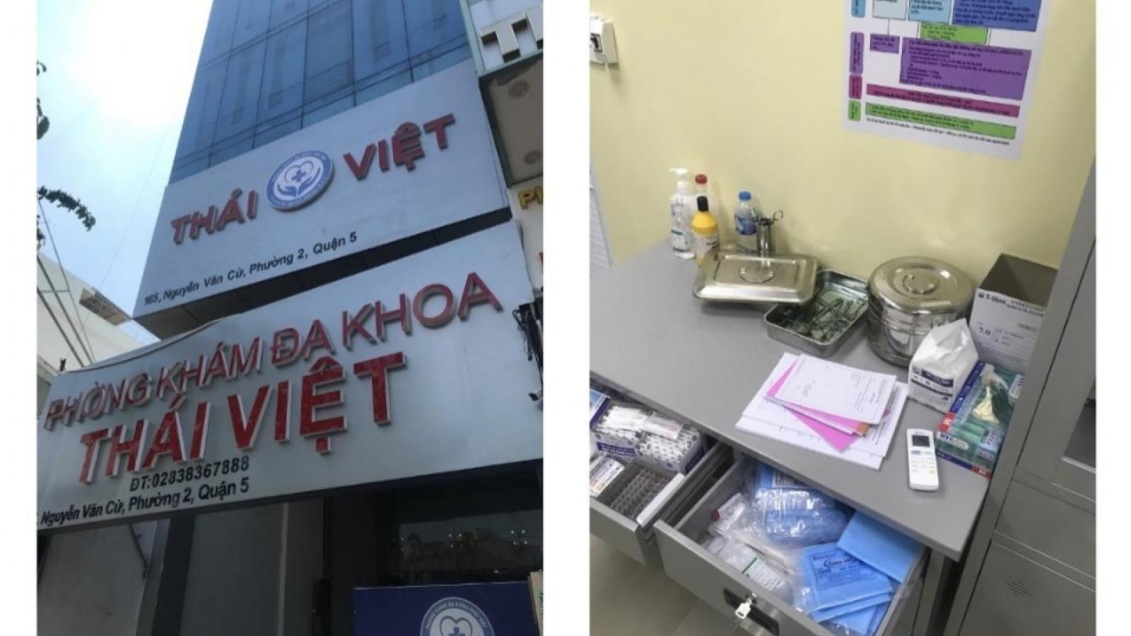 Đình chỉ hoạt động phòng khám dùng bác sỹ chui người Trung Quốc