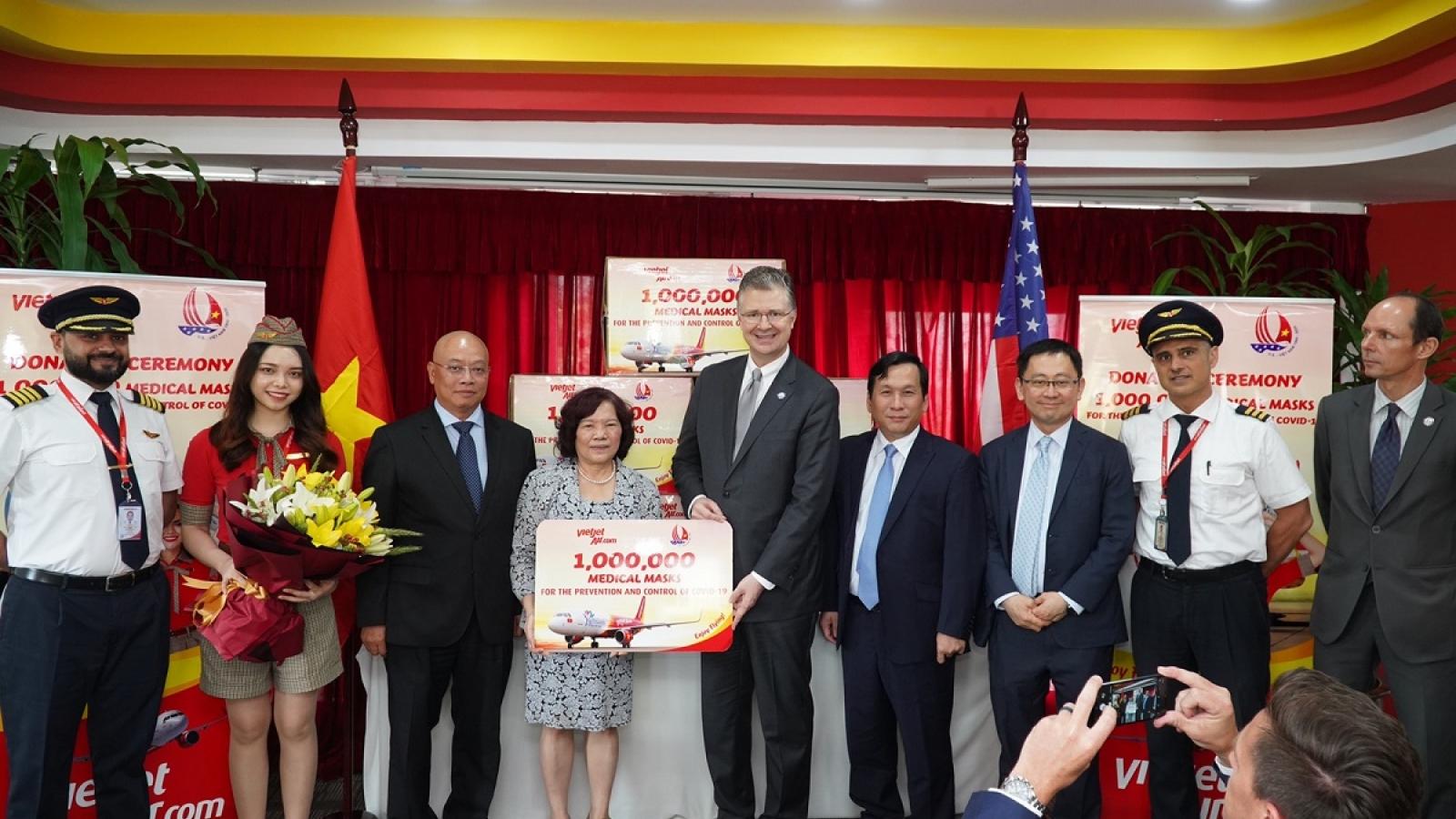 Những chiếc khẩu trang từ Việt Nam đã tới Mỹ, Châu Âu, cùng chung tay chống dịch bệnh