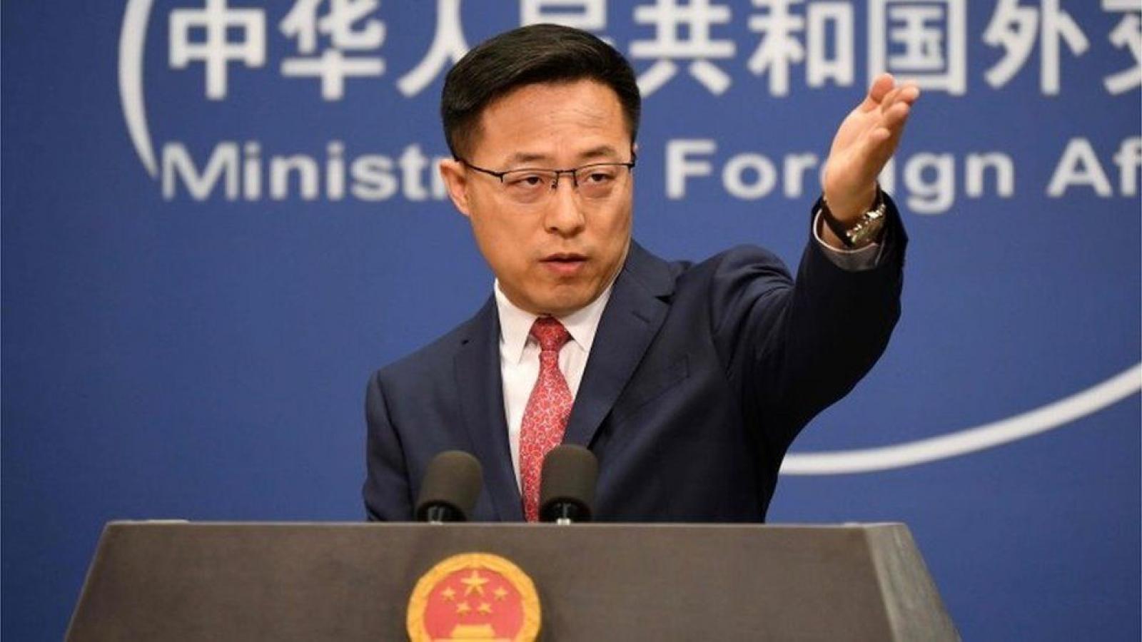 Trung Quốc tuyên bố đáp trả biện pháp trừng phạt của Mỹ nhằm vào quan chức nước này