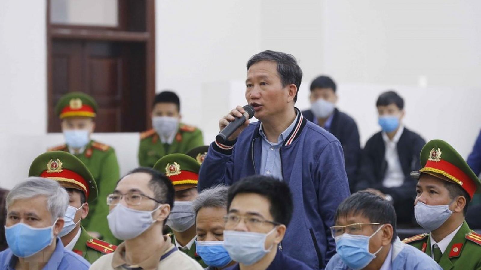 """Bị cáo Trịnh Xuân Thanh: """"Dự án Ethanol Phú Thọ dừng thi công là do hết tiền"""""""