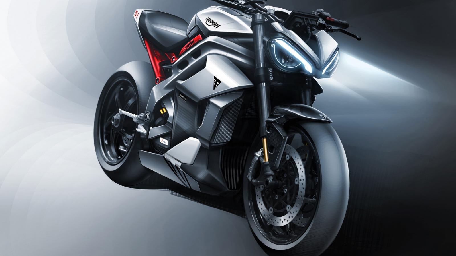 Tiết lộ hình ảnh thiết kế của xe điện Triumph Project TE-1