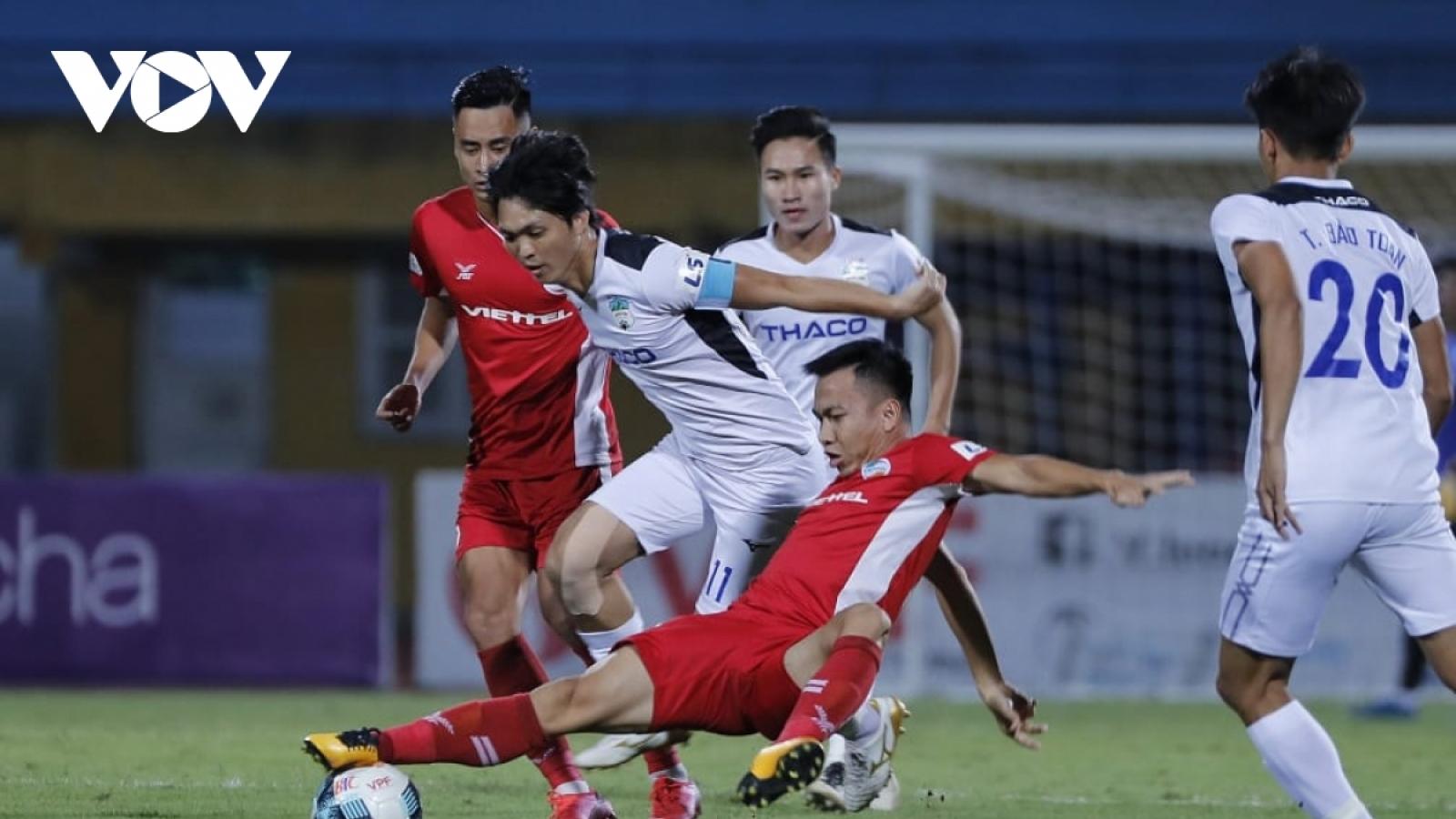 """Vòng 5 V-League 2021: CLB TPHCM thách thức Hà Nội FC, Viettel """"đại chiến"""" HAGL"""