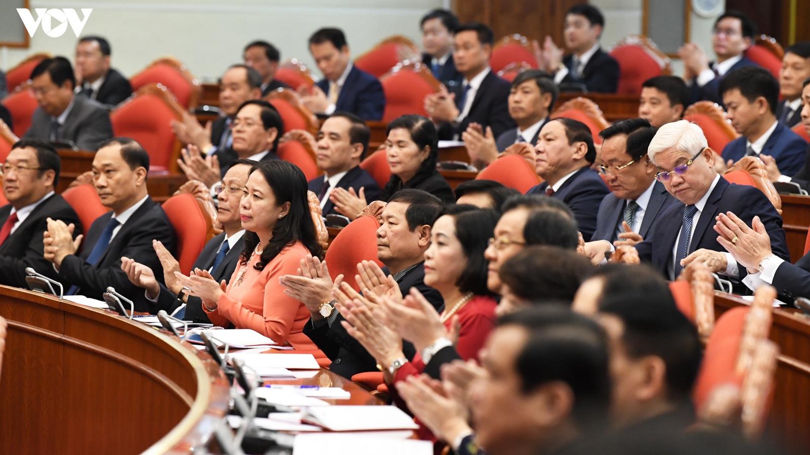 Hình ảnh Khai mạc Hội nghị lần thứ 2 Ban Chấp hành Trung ương khóa XIII