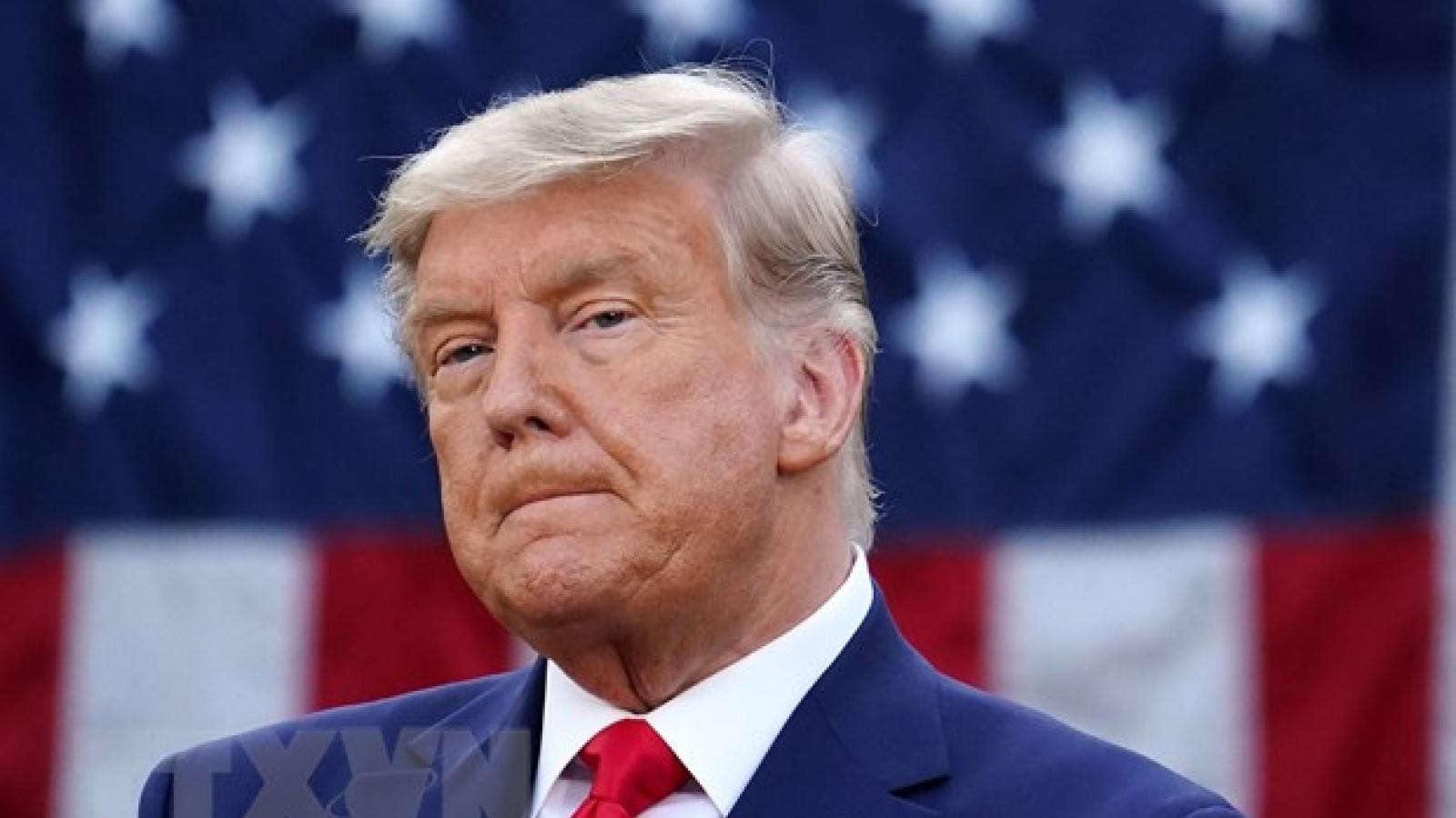Cựu Tổng thống Mỹ Donald Trump lần đầu phát biểu chính thức kể từ khi mãn nhiệm