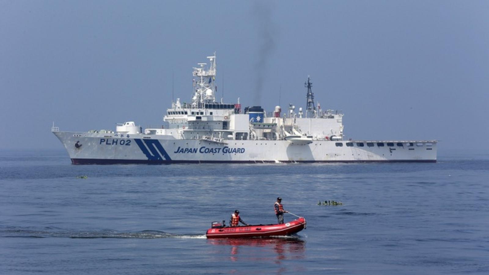 Trung Quốc quân sự hóa lực lượng hải cảnh, Nhật Bản tính đáp trả tương xứng