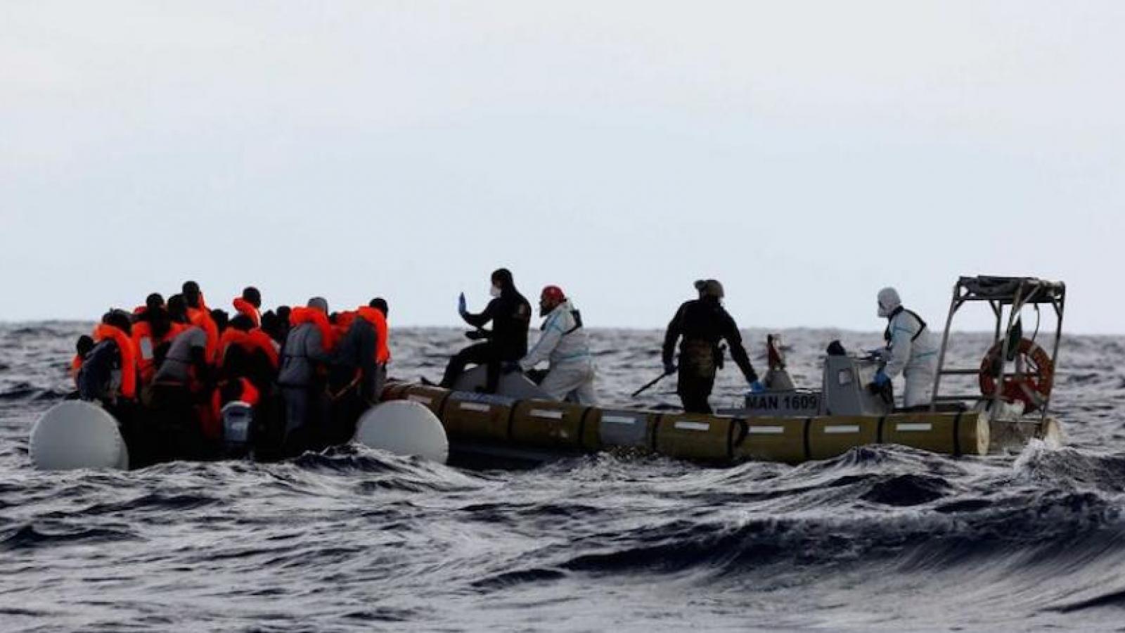Chìm phà chở người di cư bất hợp pháp ở Địa Trung Hải khiến 39 người chết
