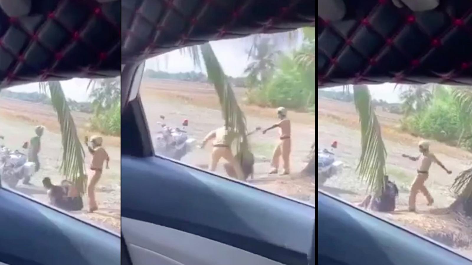 Quay video ở bãi đất trống, nhómYoutubertốbị CSGT hành hung