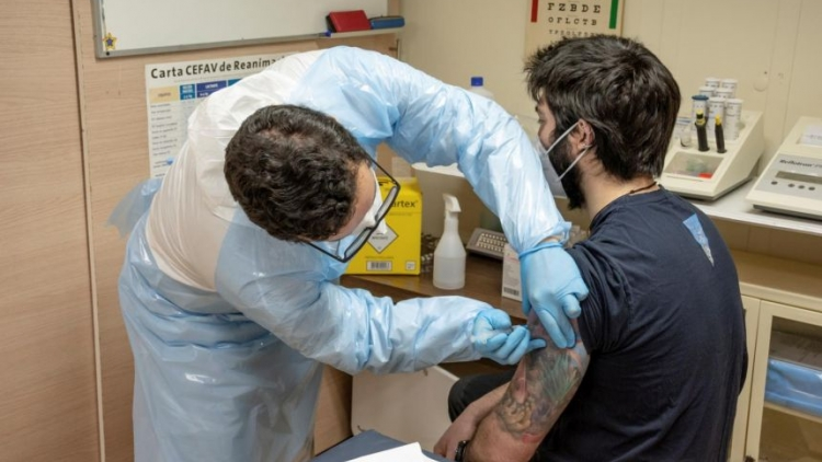 Vaccine ngừa Covid-19 đã tới Nam Cực