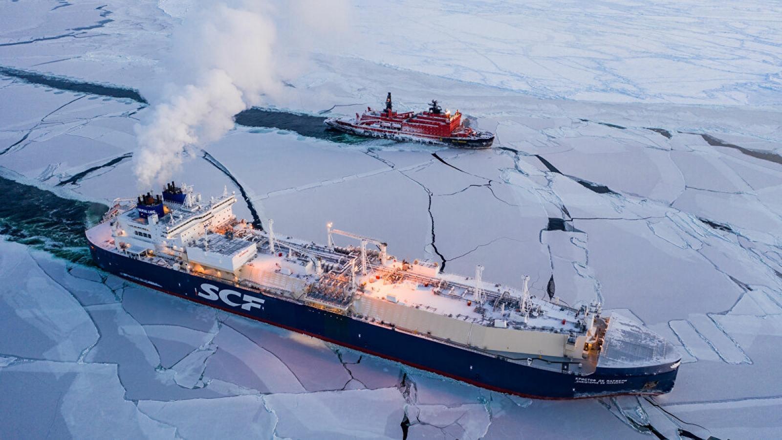 Tiềm năng vận tải qua tuyến Biển Bắc sau sự cố tàu mắc kẹt ở kênh đào Suez