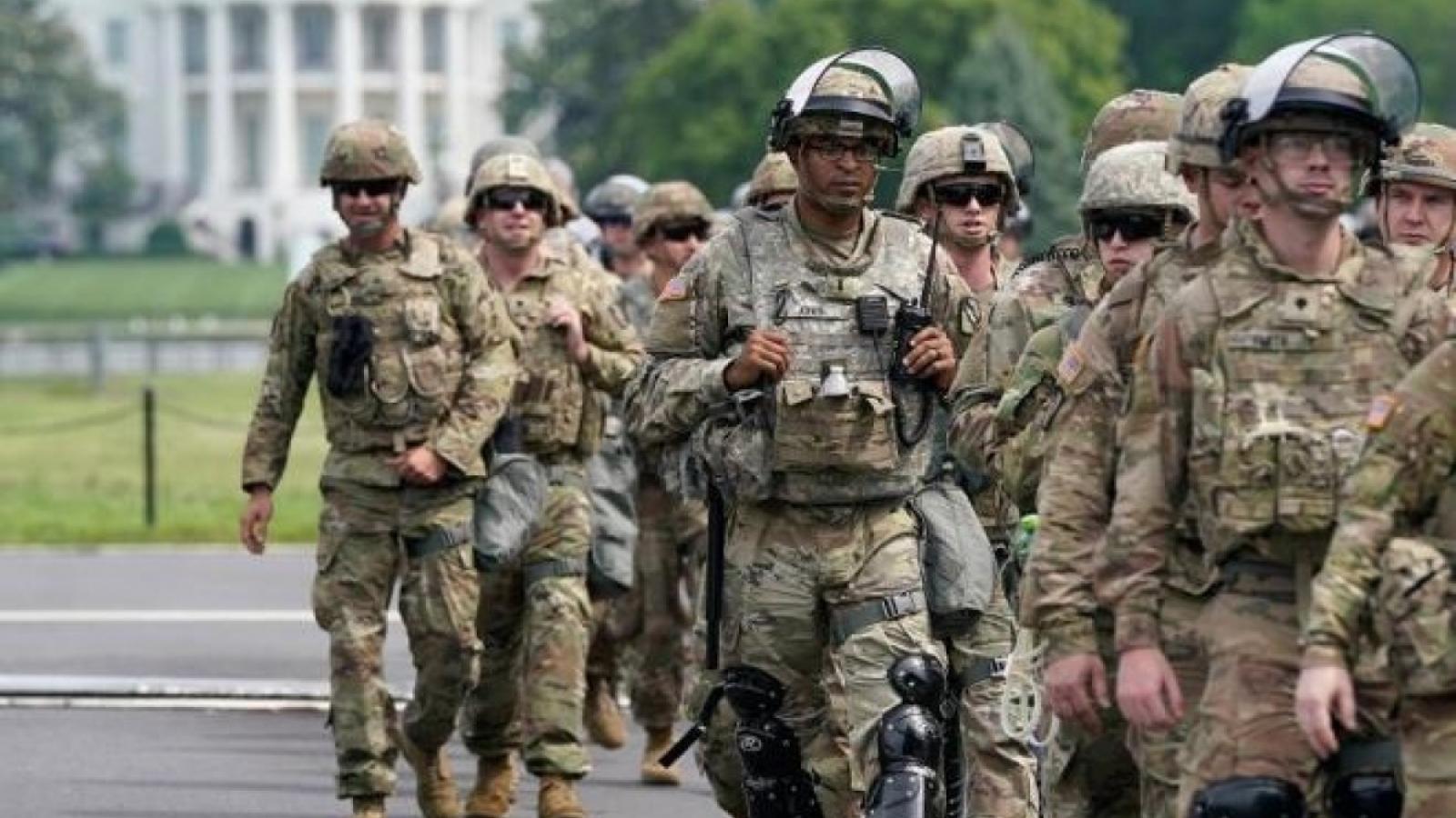 Cảnh sát Quốc hội Mỹ đề nghịkéo dài thời gian triển khai Vệ binh Quốc gia