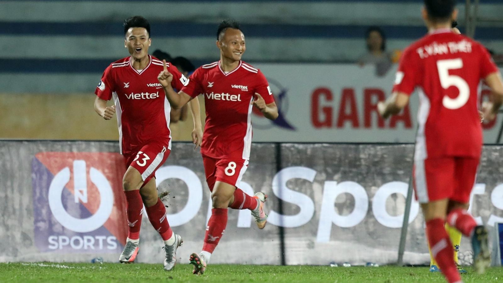 Bảng xếp hạng V-League 2021 mới nhất: Viettel vào tốp 3, HAGL tụt hạng