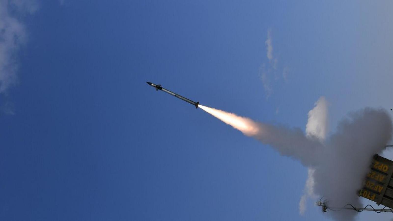 Israel thử nghiệm thành công hệ thống phòng thủ chống tên lửa