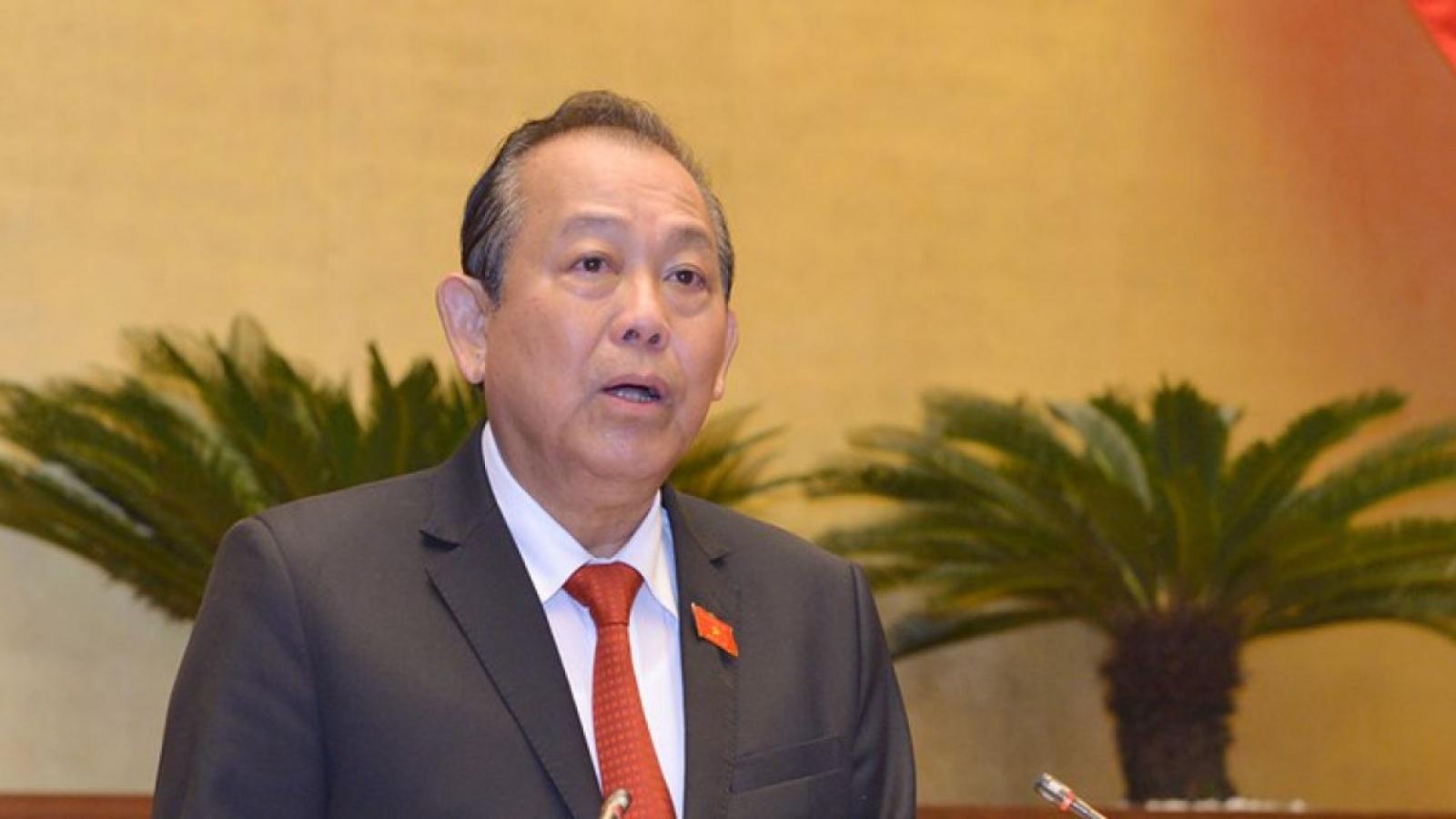 Phó Thủ tướng Trương Hòa Bình chỉ đạo xử lý nghiêm vụ sàm sỡ phụ nữ
