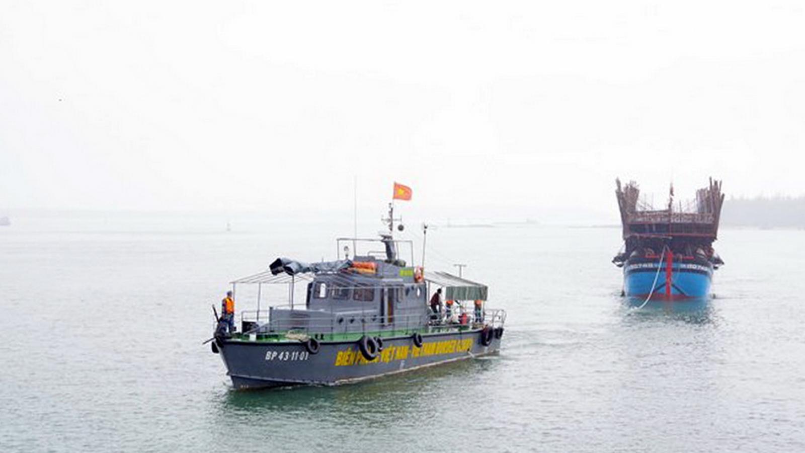 Một ngư dân Quảng Nam mất tích khi đánh bắt trên biển