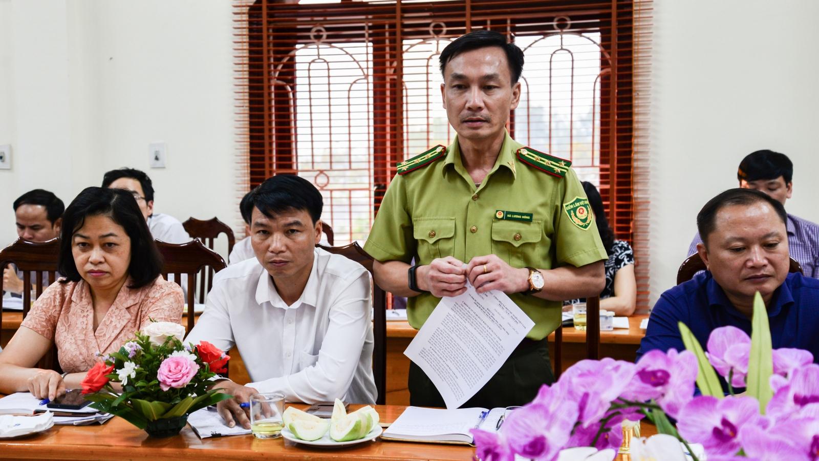 Điện Biên họp báo cung cấp thông tin vụ phá rừng tái sinh ở Nậm Pồ