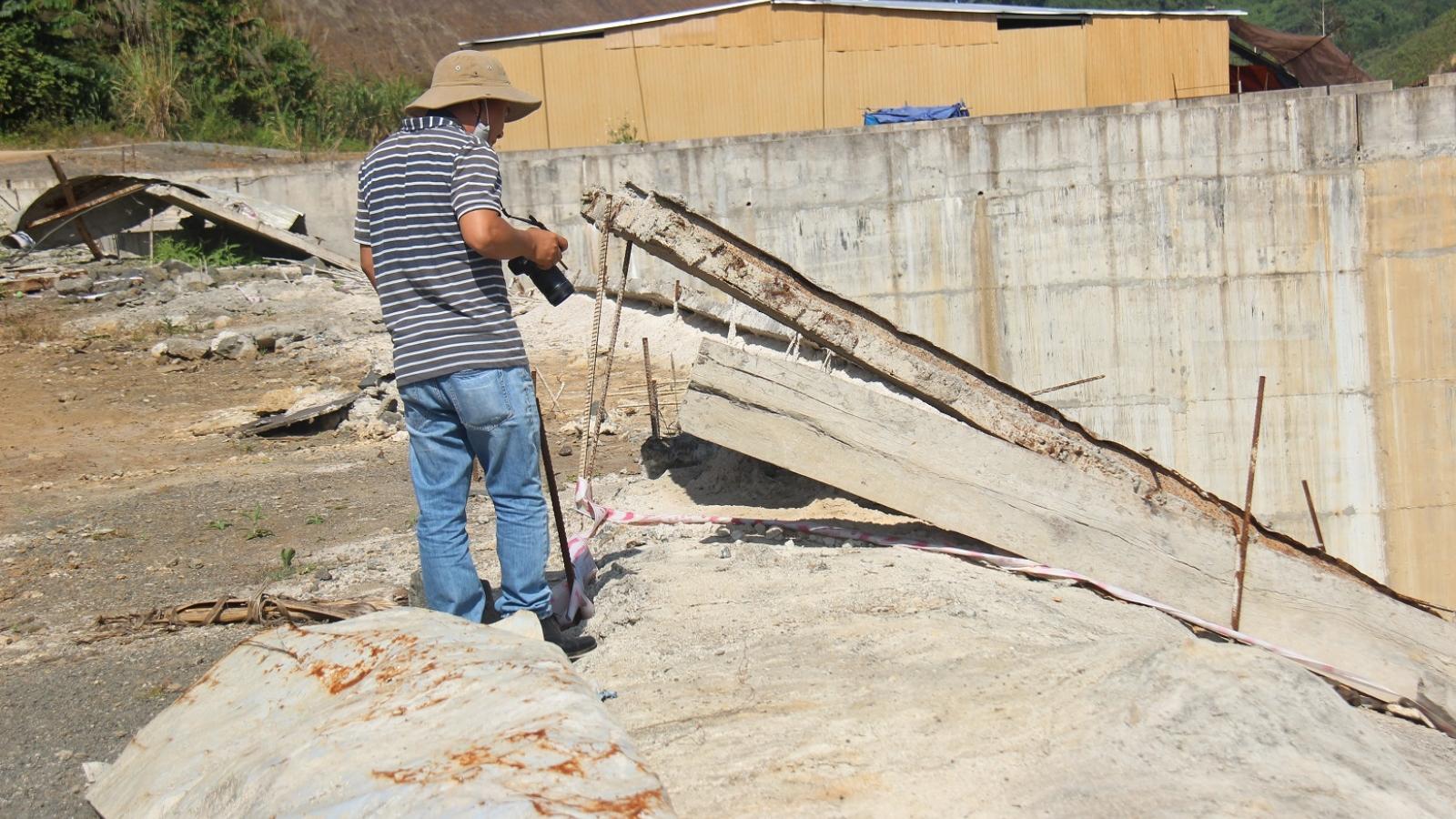 Công an Quảng Nam điều tra mở rộng vụ sử dụng vật liệu nổ ở thủy điện Nước Chè