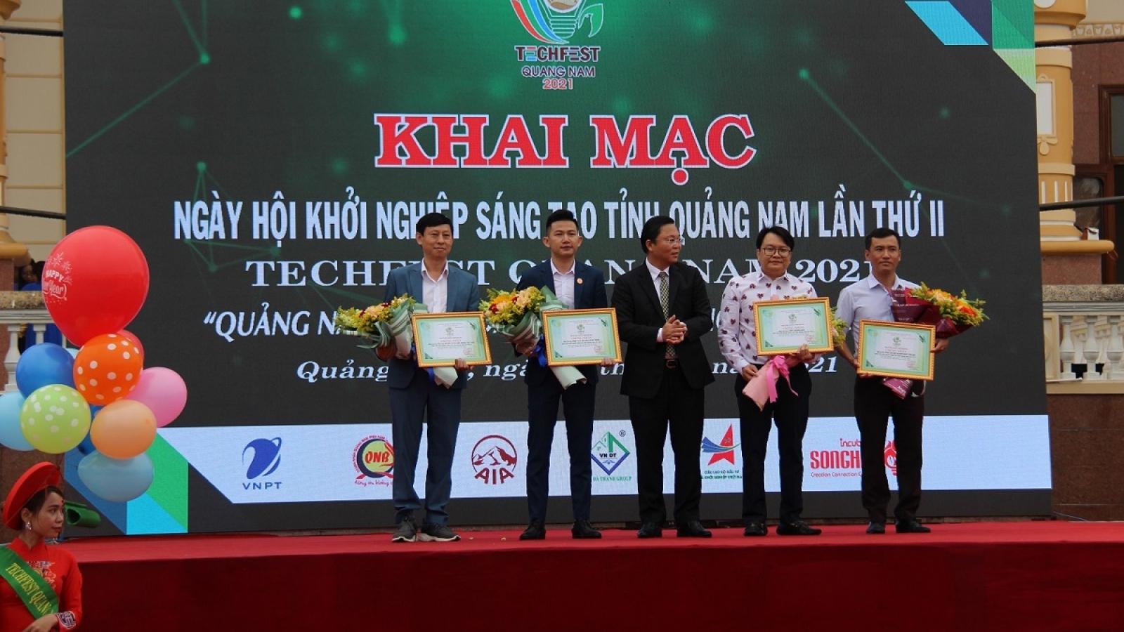 Hơn 200 sản phẩm khởi nghiệp tại Ngày hội Khởi nghiệp sáng tạo Quảng Nam lần thứ II